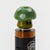 Green - Wide Bore Mushroom Glass Drip Tip
