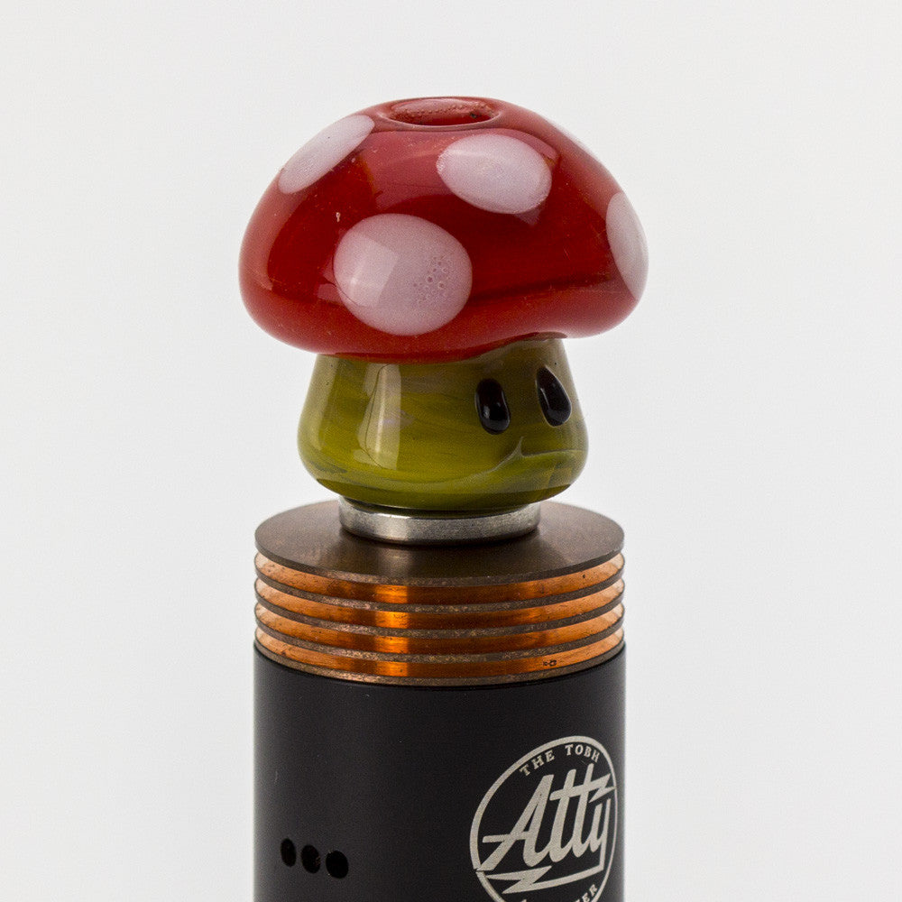 Empire Glassworks - Wide Bore Mushroom Glass Drip Tip - Red - Drip Tip - Cloud Culture - 5