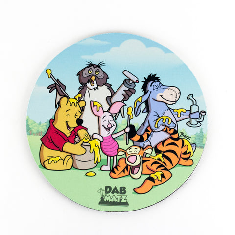 Winnie's Gold Honey Party Dab Mat