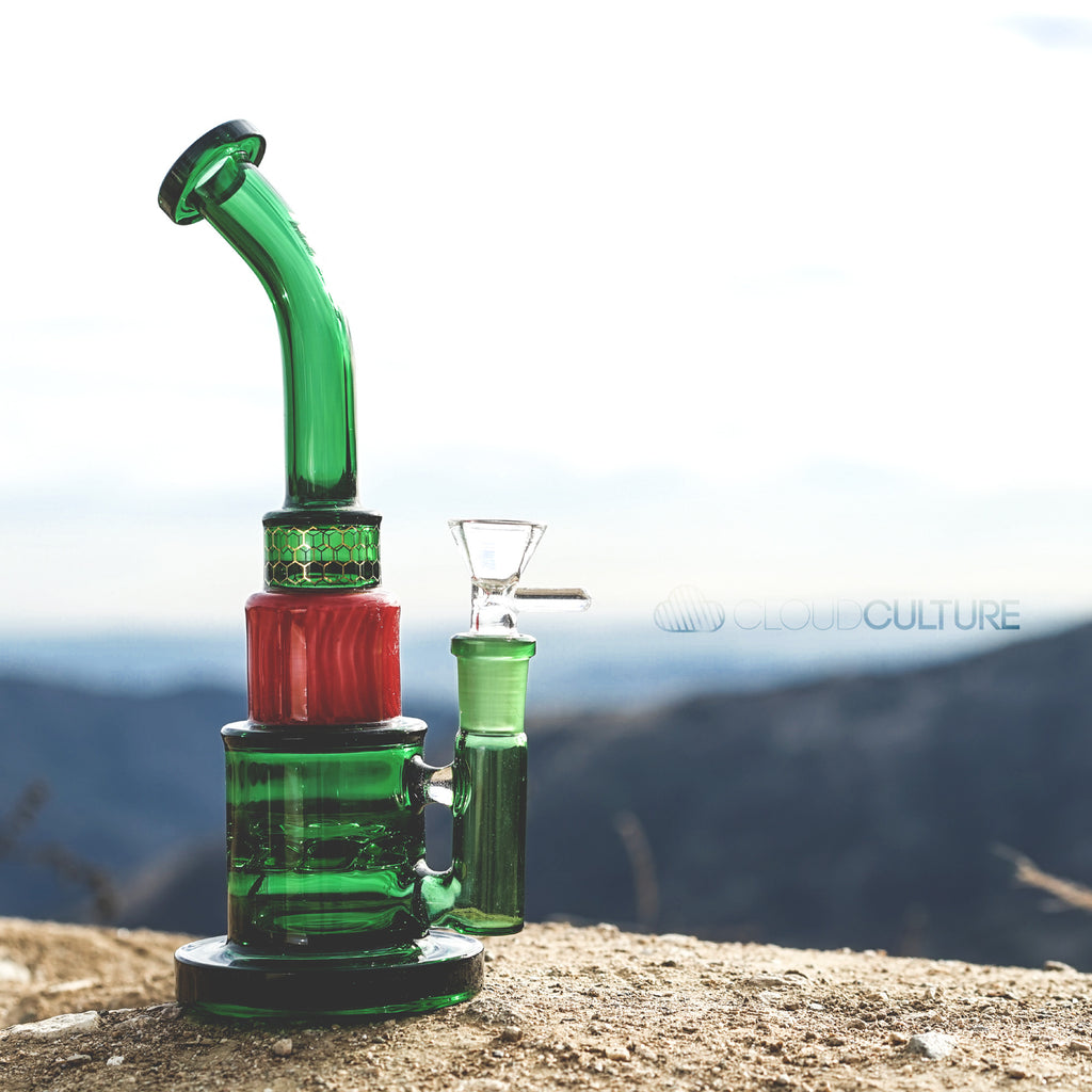 Mav Glass - Mav Glass Green Turbine -  - Water Pipe - Cloud Culture - 8