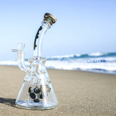 Sesh Supply - Selene Spore Perc'd Fab Beaker -  - Water Pipe - Cloud Culture - 7
