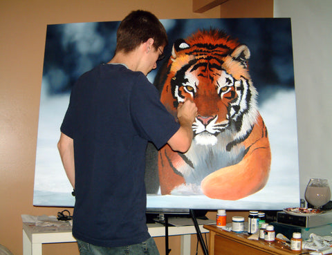 Painting the Tiger