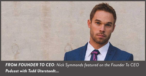 From Founder To CEO Podcast: Nick Symmonds Talks Running and Run Gum