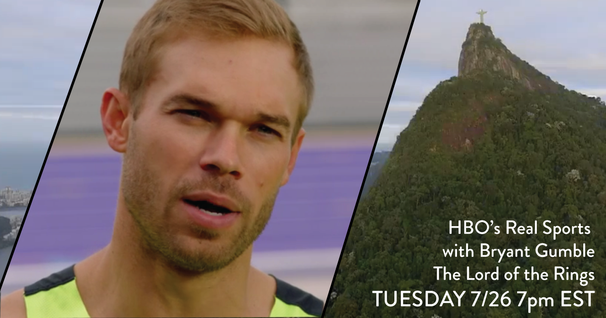 Co-Founder Nick Symmonds to be Featured on HBO Real Sports Tuesday Night