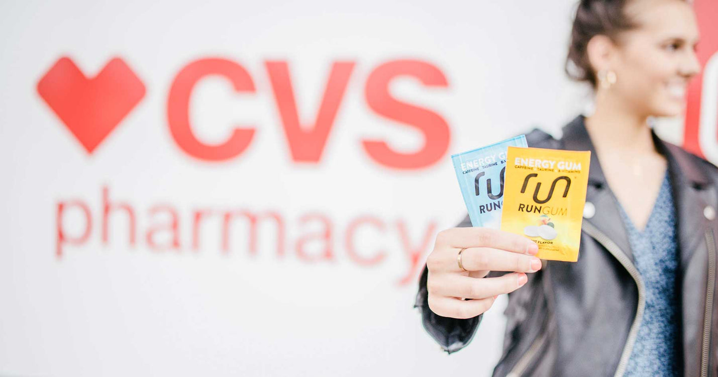 Run Gum Launches In CVS Pharmacy