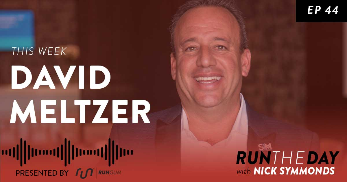 David Meltzer, CEO, Speaker, Humanitarian and Author - How To Create Consistent Habits That Will Boost Your Performance - 044