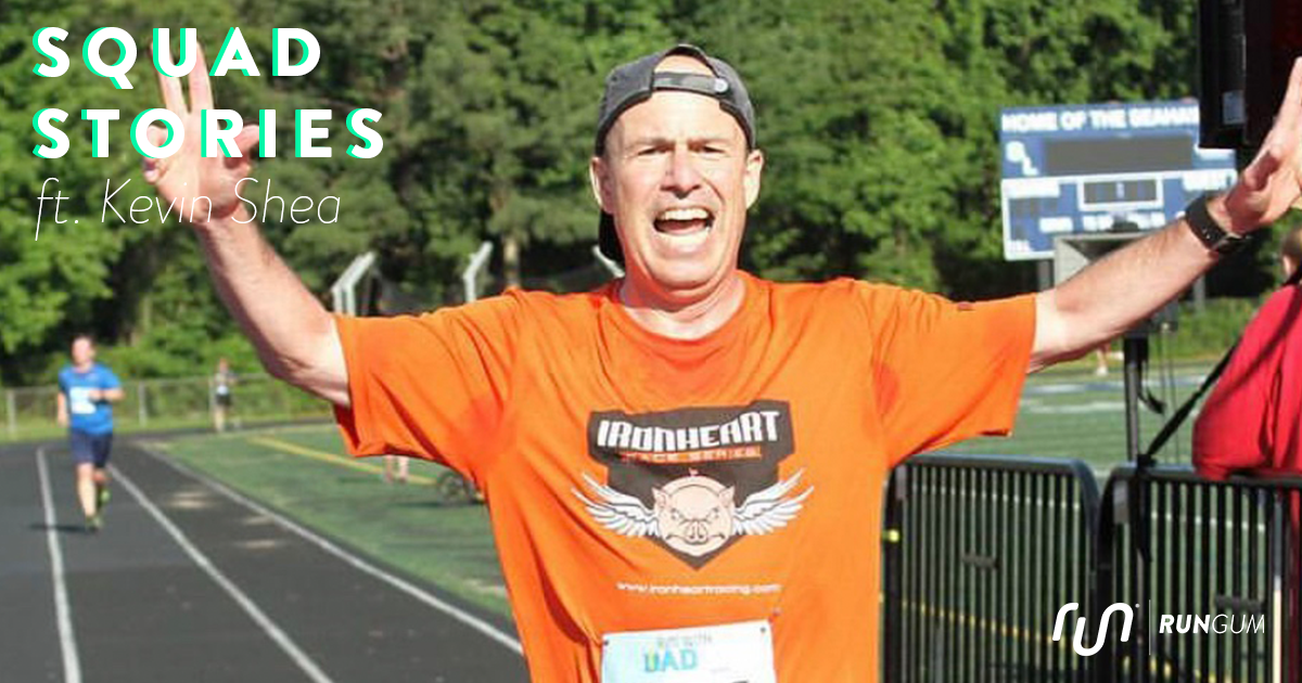 Still setting goals at the age of 60, Kevin Shea is training to break 6 minutes in his 60's
