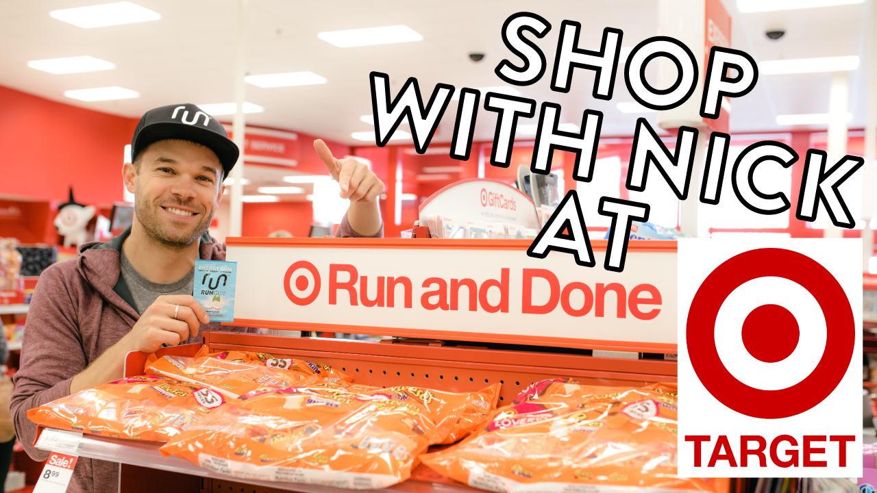 Shop with our CEO, Nick Symmonds at Target