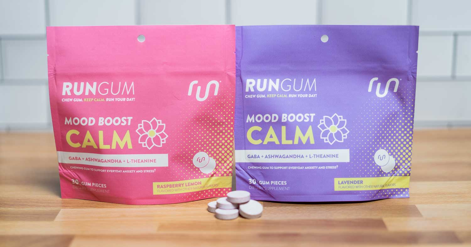 What's Inside: Run Gum Calm