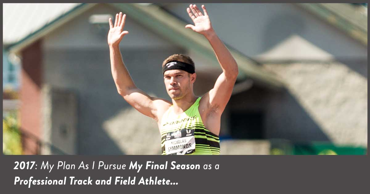 Nick Symmonds Announces his final season in track and field