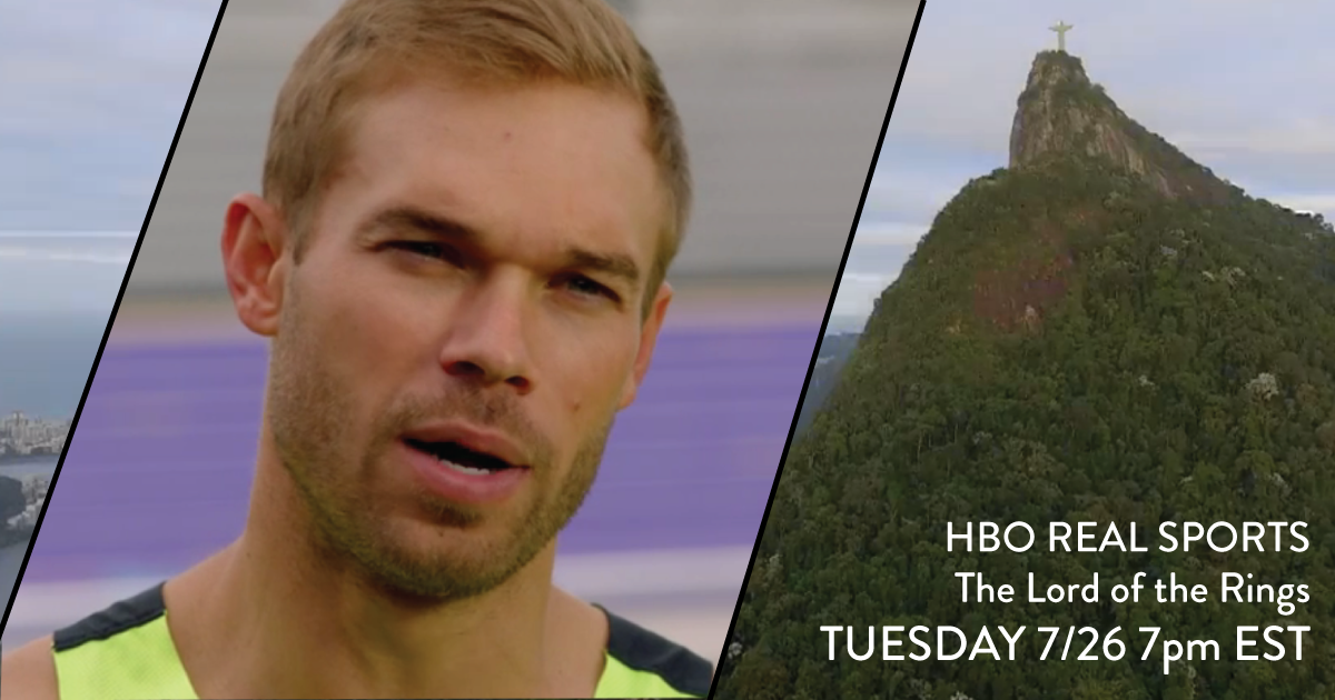 Nick Symmonds on Episode 232 of HBO Real Sports with Bryant Gumbel