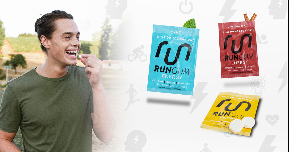 Run Gum® - Energy Gum to Maximize Your Performance