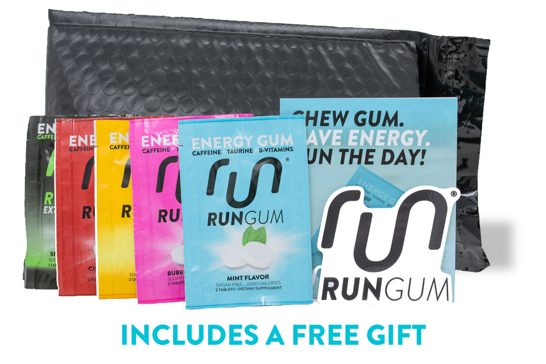 6-Pack Sampler with Free Headband - Run Gum