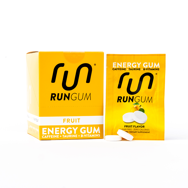 Caffeine Chewing Gum | Gum with Caffeine | Run Gum® Energy Gum