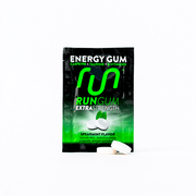 Extra Strength Spearmint Energy Gum - Run Gum