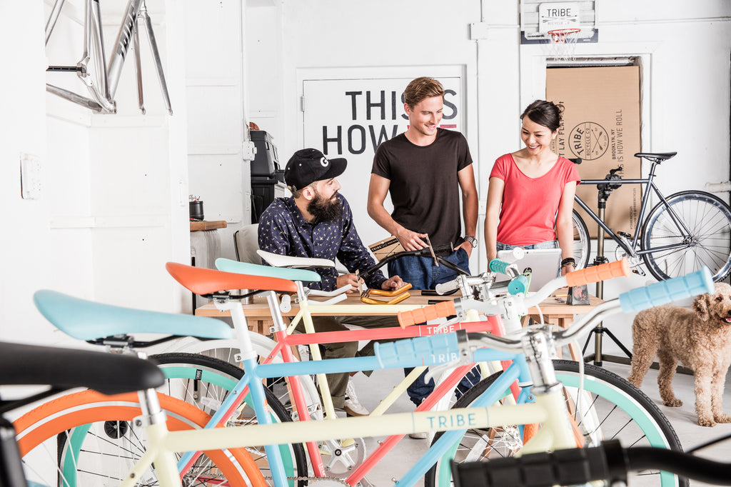 Tribe Bicycle Co. Brooklyn New York