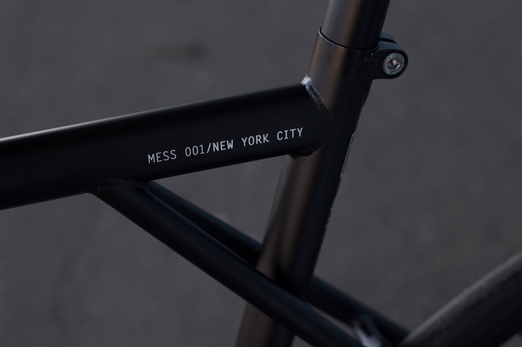 Tribe Bicycle Co Mess 001 NY Fixed Gear Bike