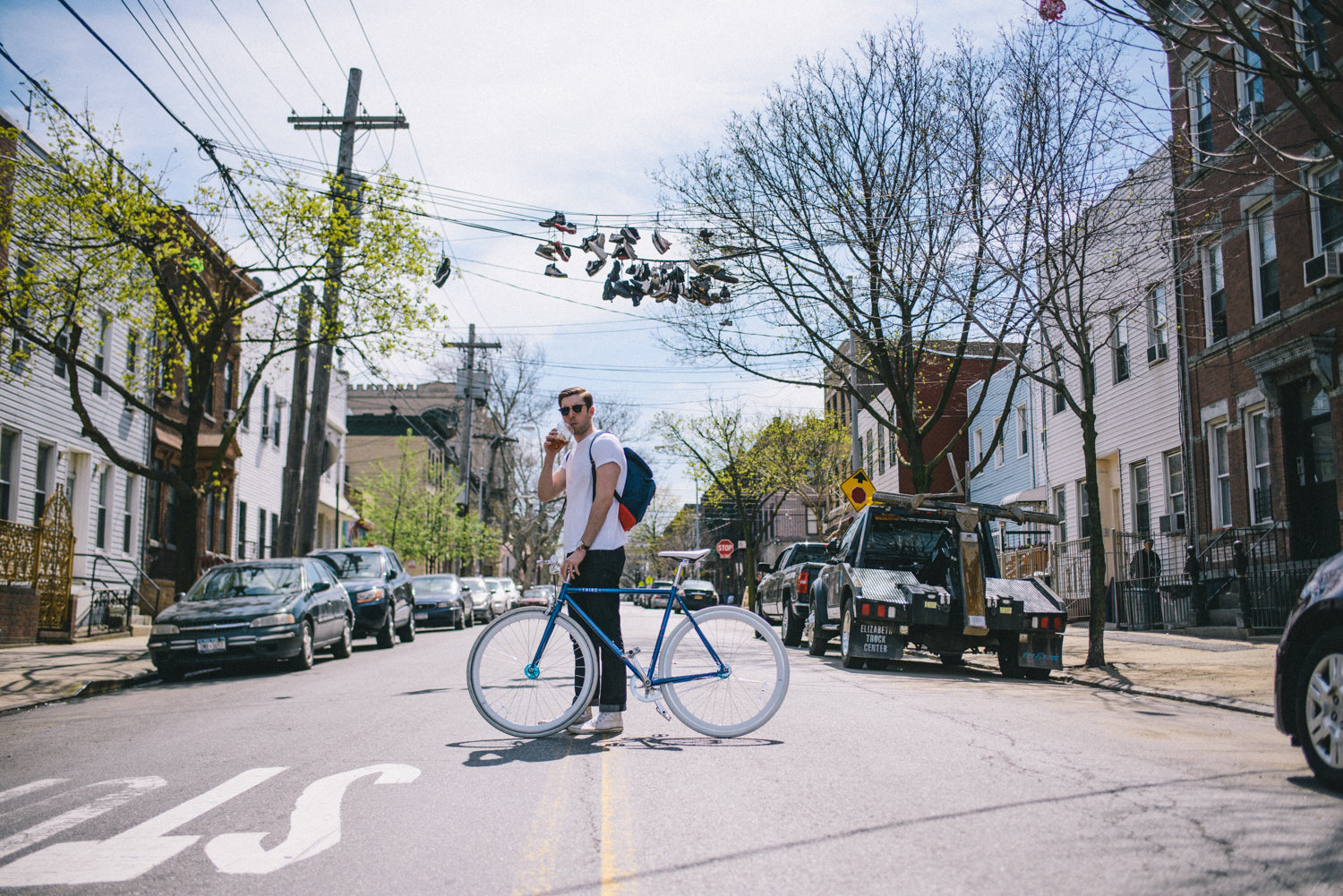 Tribe Bicycle Co. Fixed Gear Bike