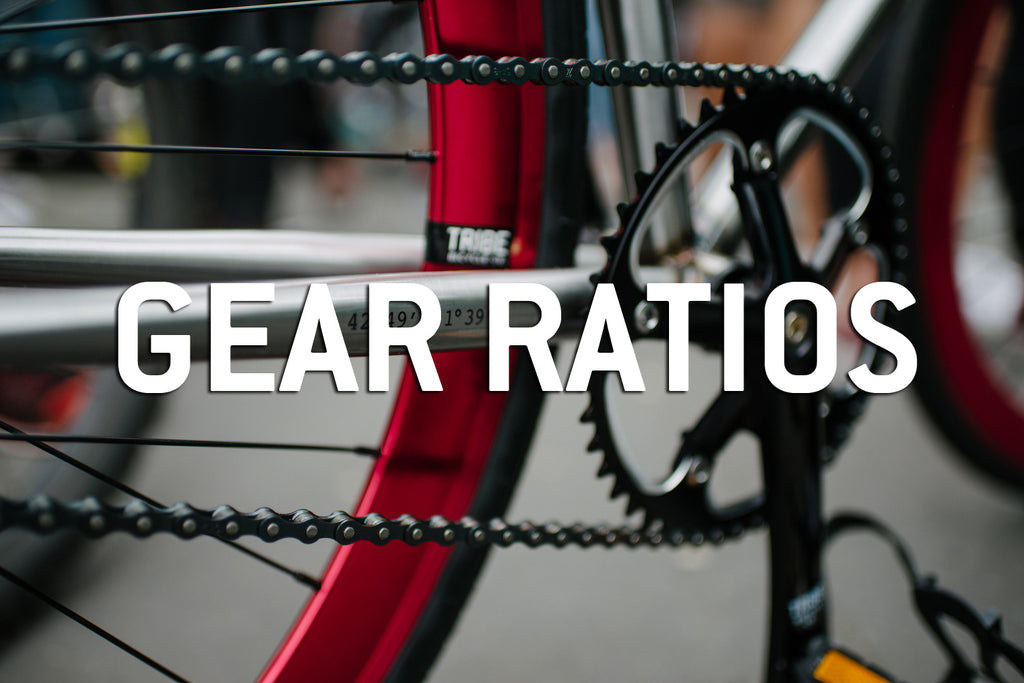 how to change gear ratio on a bike