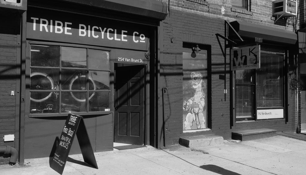 Tribe Bicycle Co. Red Hook Brooklyn