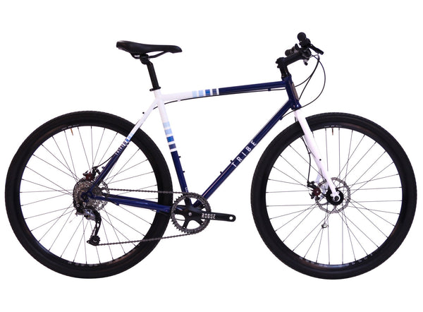Tribe-Urban-Cyclocross-Navy-White-CX-Raceface-Hybrid-1x9
