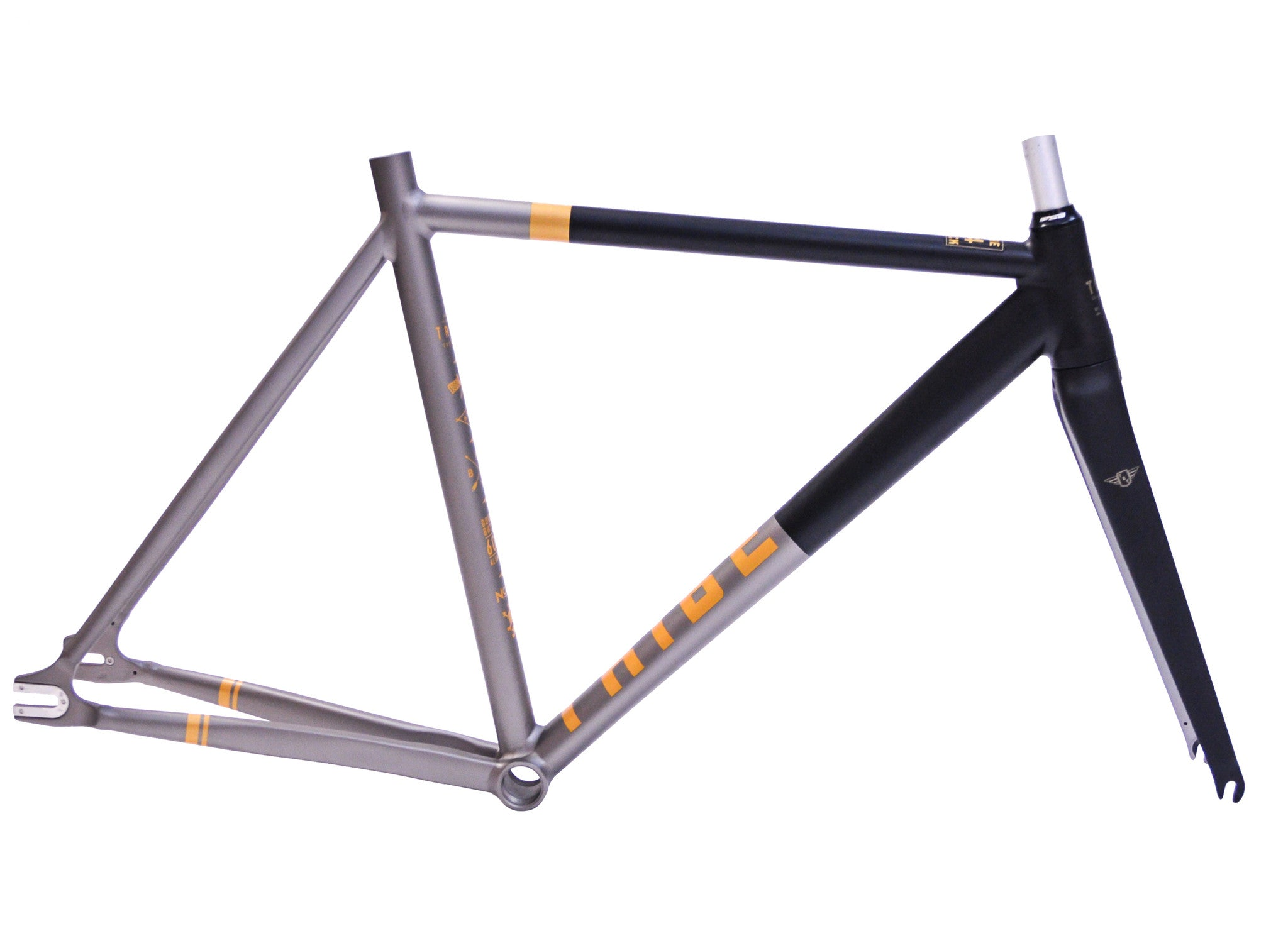 Tribe Bicycle Co. - Track Series - Cafe Racer Frame set - Tribe ...