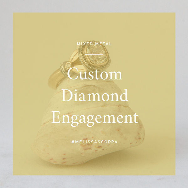 Custom Cushion Cut Diamond Engagement Ring