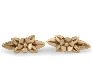 Wildflower Stud Earrings - Melissa Scoppa Jewelry