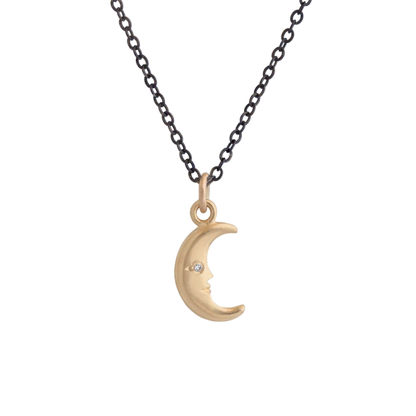 Simple Moon Pendant