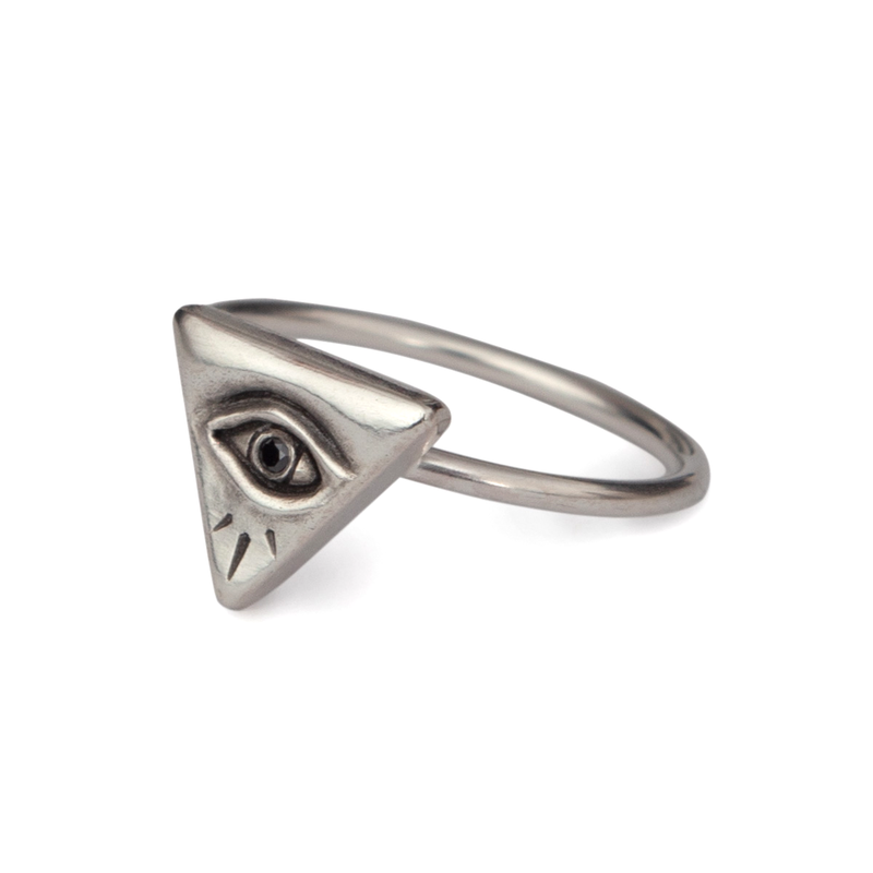 Evil Eye Ring Small