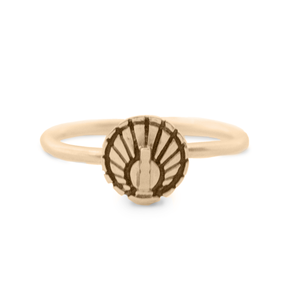 Mini Sundial Ring - Melissa Scoppa Jewelry