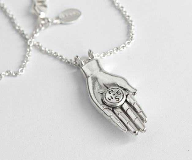 Guiding Hand with Compass - Melissa Scoppa Jewelry
