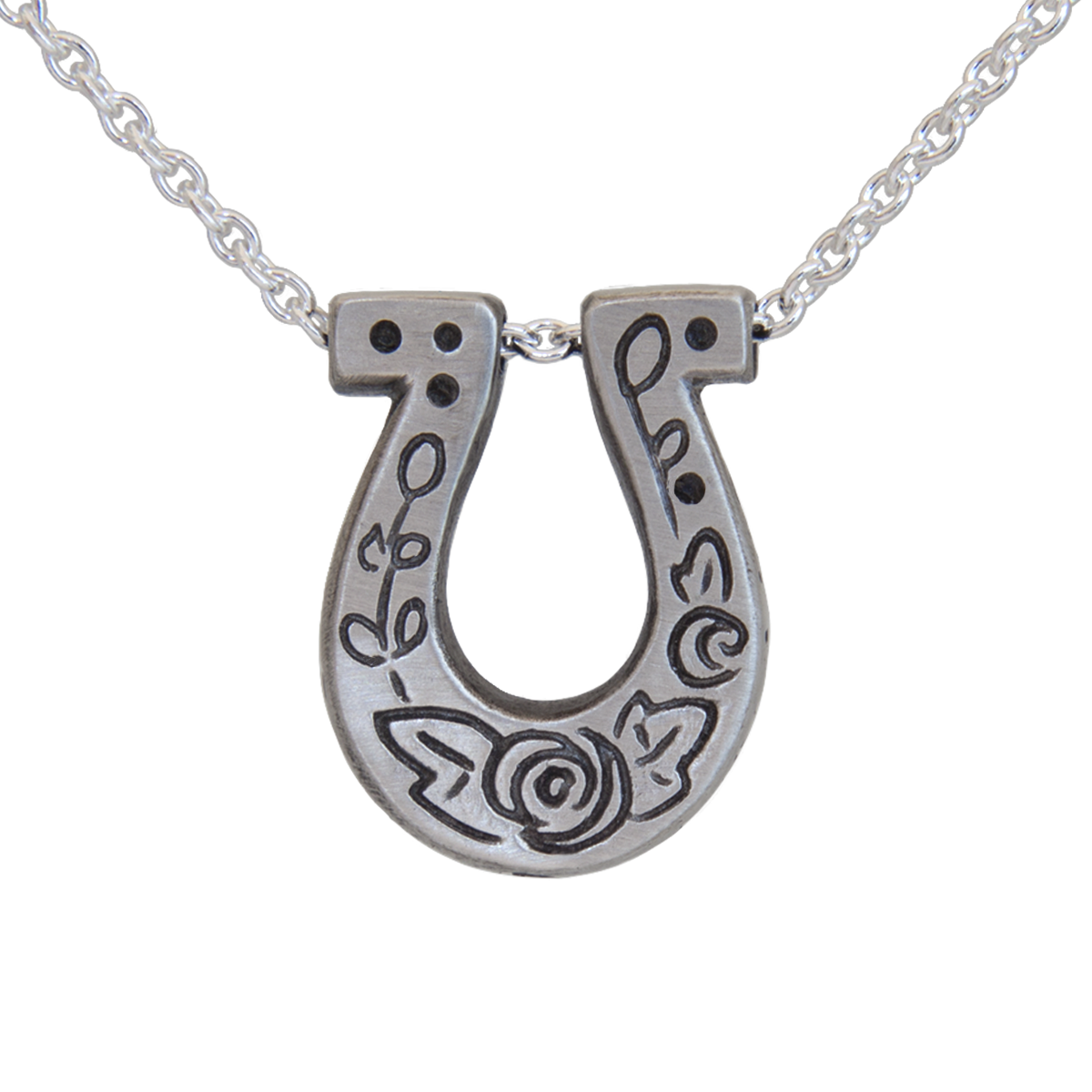 Mini luck horseshoe pendant melissa scoppa mini luck horseshoe pendant melissa scoppa jewelry mozeypictures Gallery