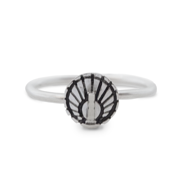 Mini Sundial Ring
