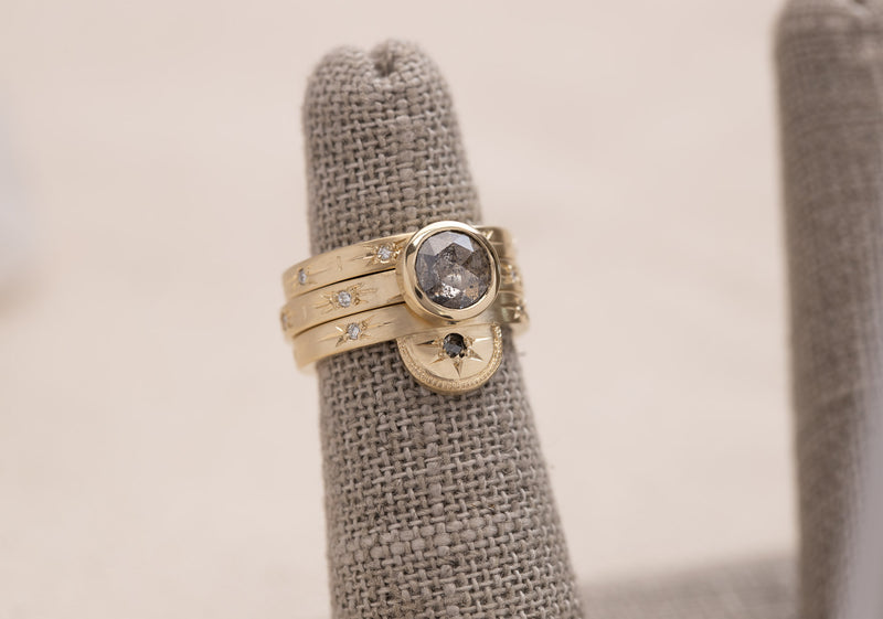 Half Moon Luna Ring