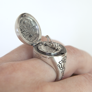 Sundial Ring - Melissa Scoppa Jewelry