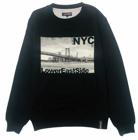 LES NYC® Bridge Crewneck