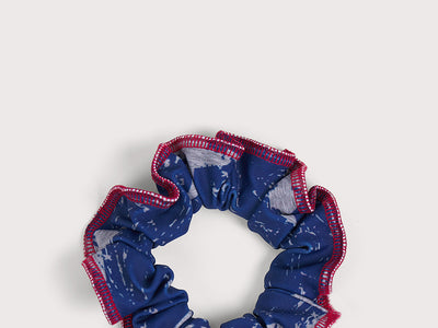 Plum All American Scrunchie