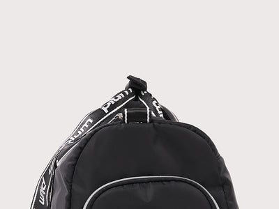 Plum Black Duffle Bag