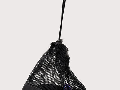 Plum Black Grip Bag