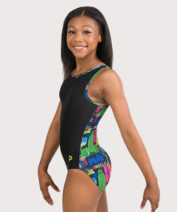 Plum Celeb-pretty Flip Side Leotard