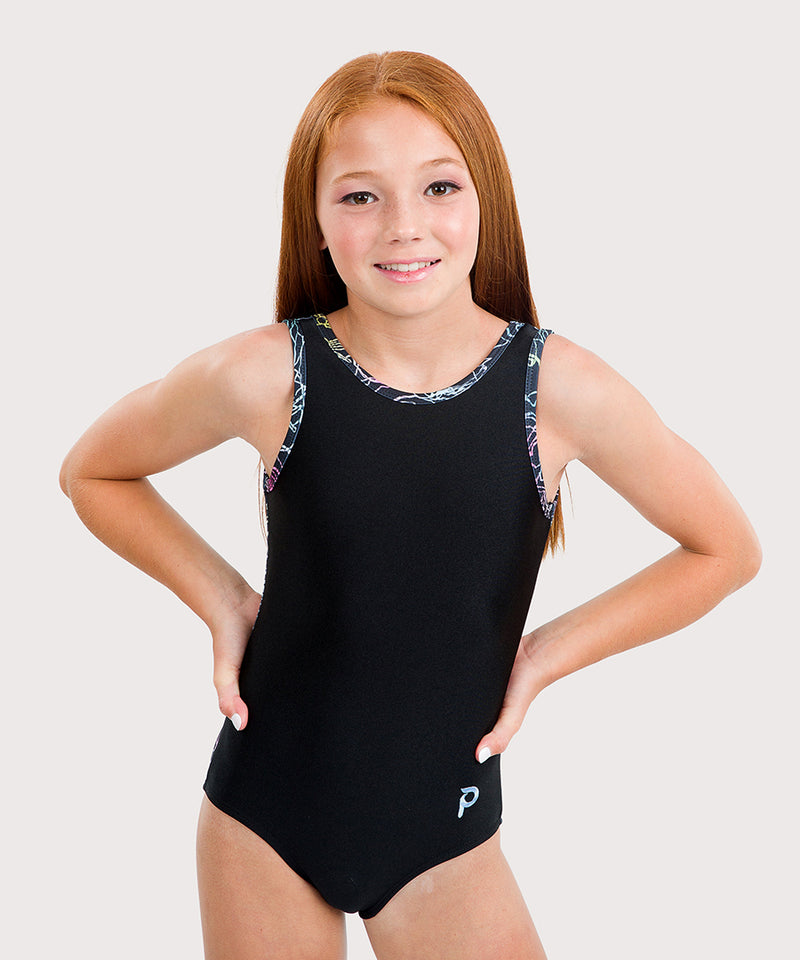 Plum Baccara Flip Side Leotard