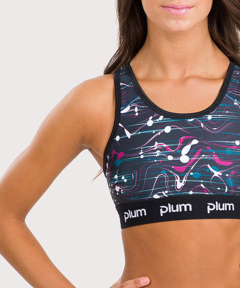 Plum Drizzle Sport Top