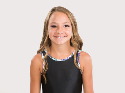 Plum Granite Flip Side Leotard