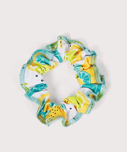 Plum Lemon Squeeze Scrunchie