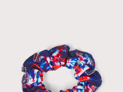 Plum Santa Cruz Scrunchie