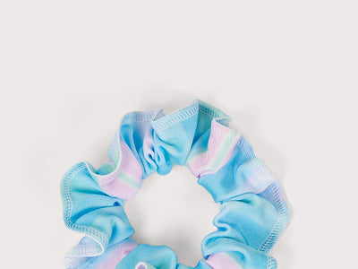 Plum Cotton Candy Scrunchie