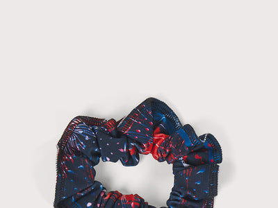 Plum Summer Thunder Scrunchie