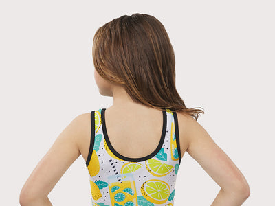 Plum Lemon Squeeze Flip Side Leotard