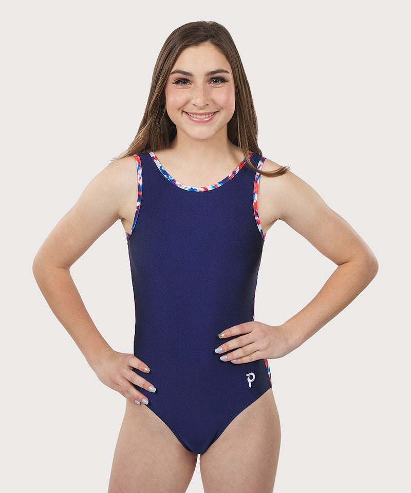 Plum Santa Cruz Flip Side Leotard